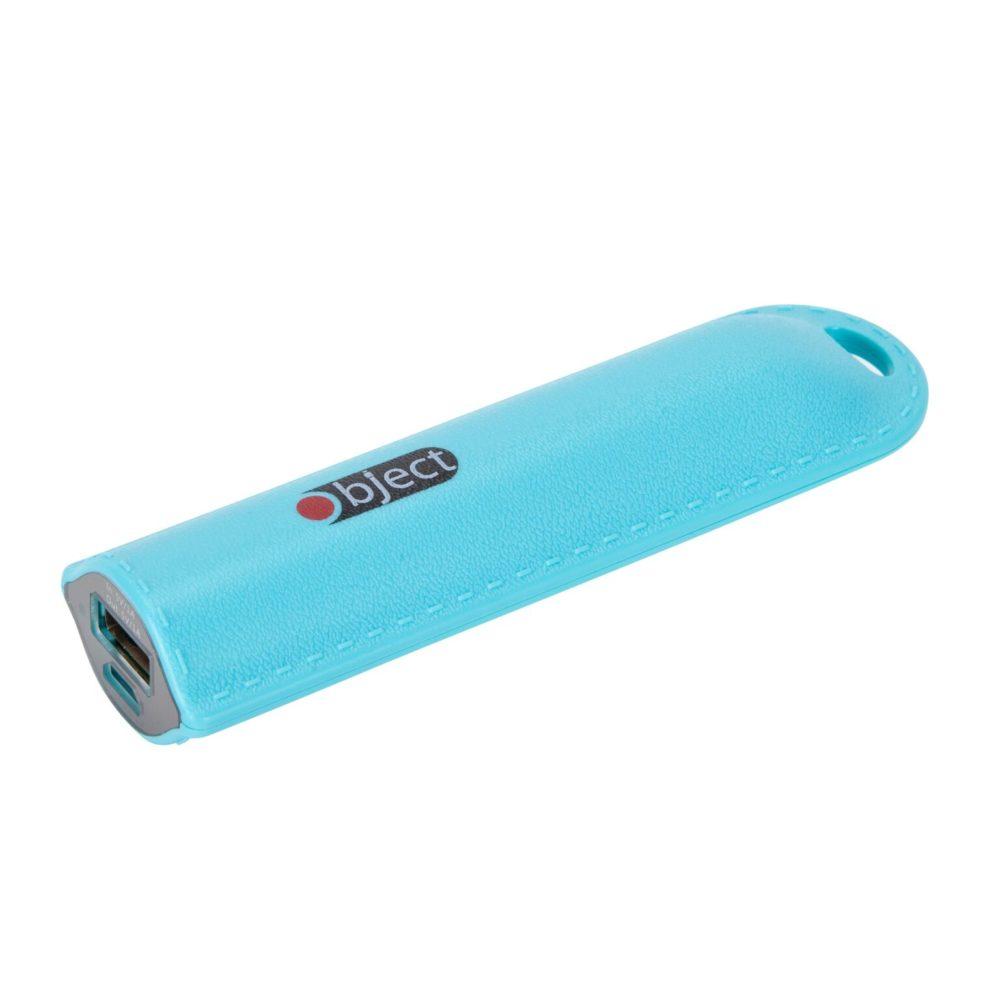 Portable Power Bank 2200 mAh blue