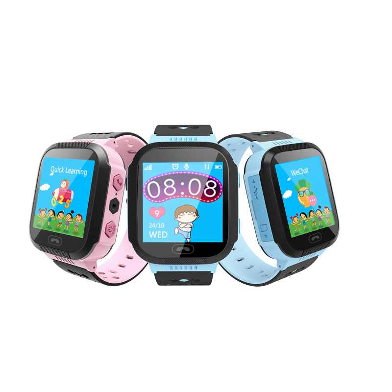Wrist Watch Cell Phone GPS Tracker for Kids Smartwatch
