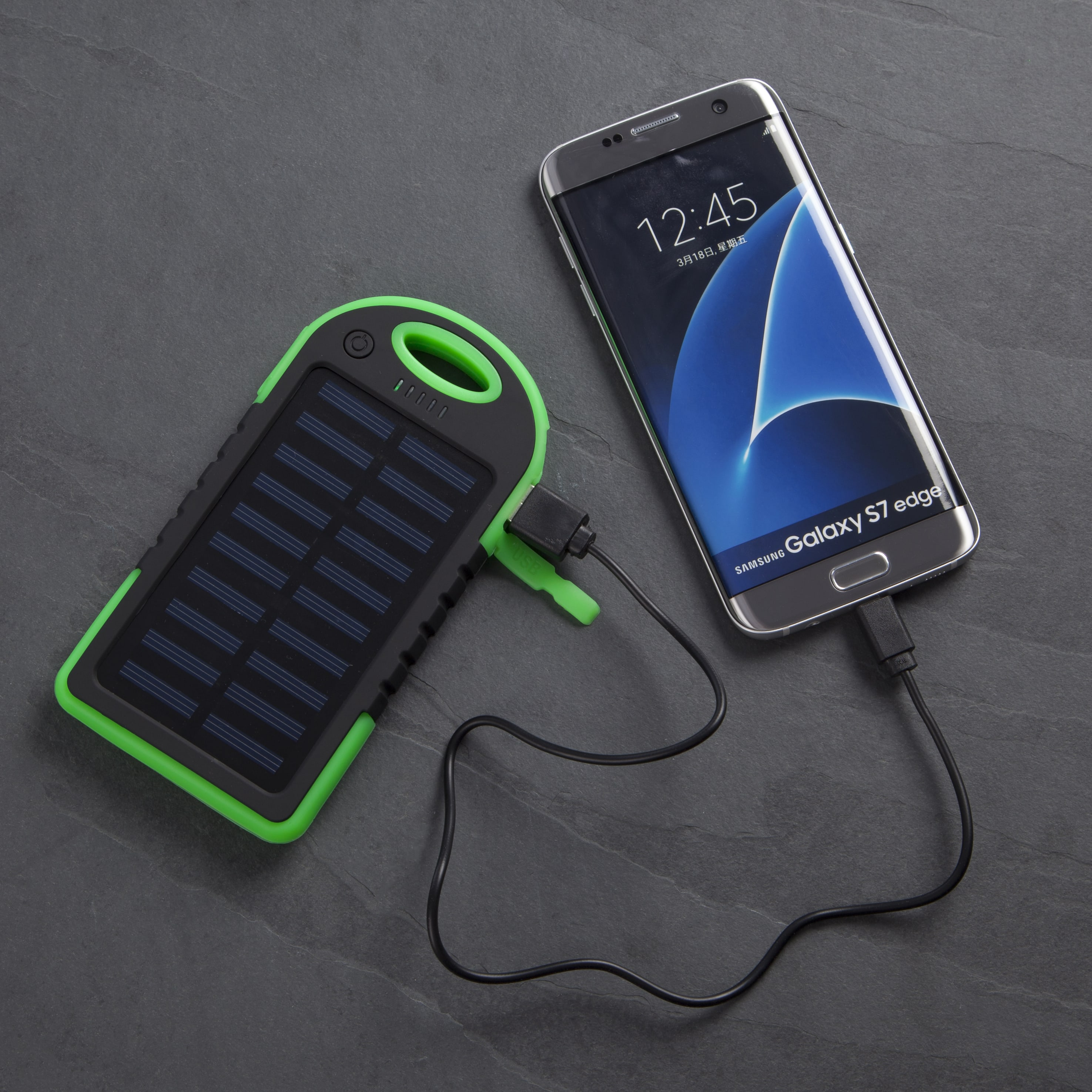 Solar Powered Power Bank Object