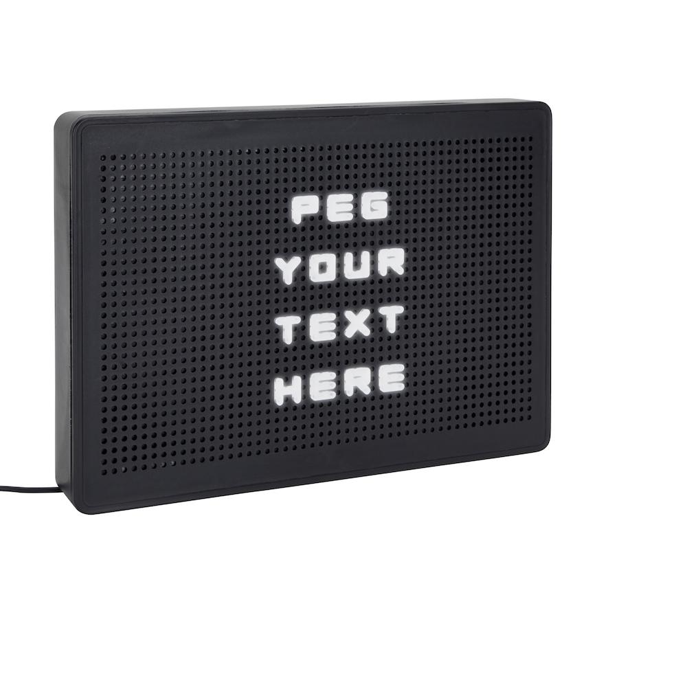 LED Light Up Message Board