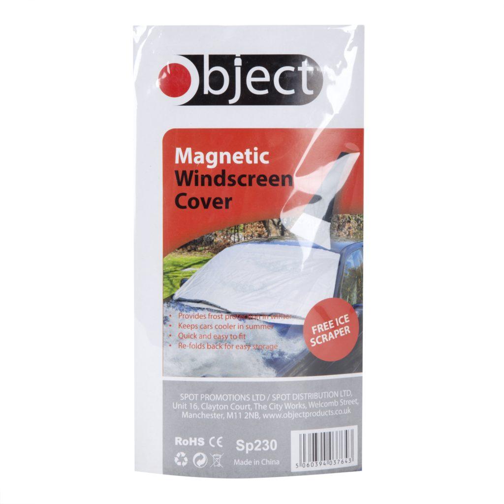 Magnetic Windscreen Cover